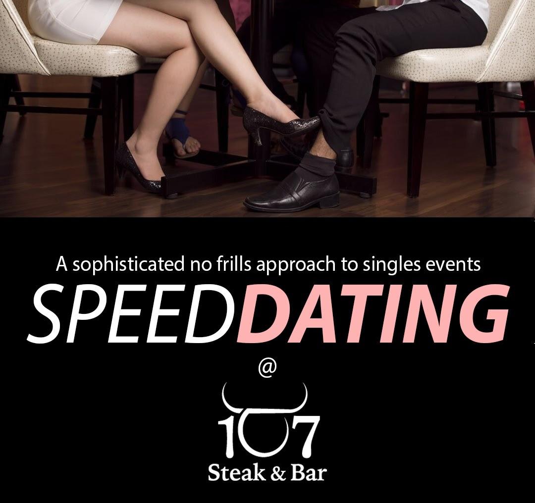 speed dating - 107 Steak & Bar